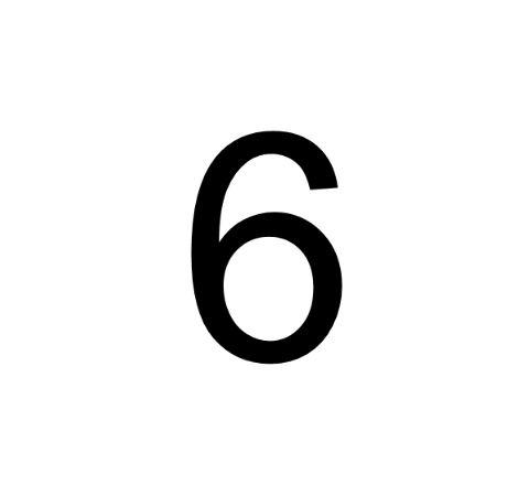 Husnummer Folie 6