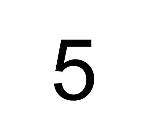 Husnummer Folie 5