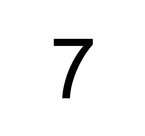 Husnummer Folie 7