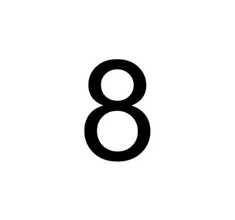 Husnummer Folie 8