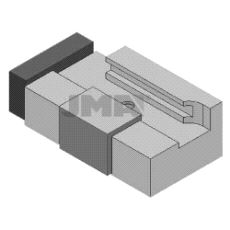 AD-MJ Adapter for filing avMerceders / bMW nøkler