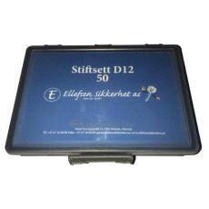 Stiftsett D12 - 50