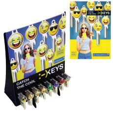 ES61 Smiley Diskstativ med Nøkkelemner