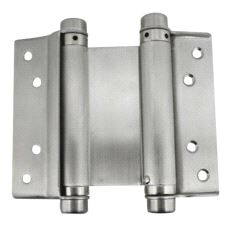 SP491 Fjærhengsel dobbel. 150mm Rustfritt stål. Par