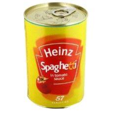 Safeboks Heinz Spaghetti
