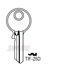 TIF-25D Nøkkelemne